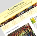 Website des Distriktkantorats